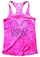 Disney Bound Burnout Tank Top By Funny Threadz Funny Shirt Small / Shocking Pink