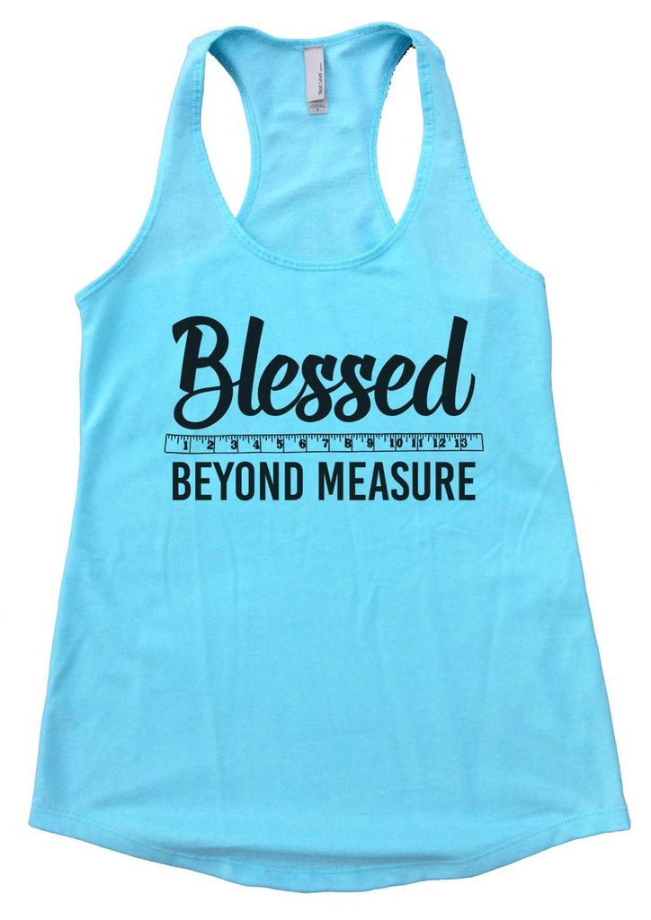 Blessed Beyond Measure Womens Workout Tank Top