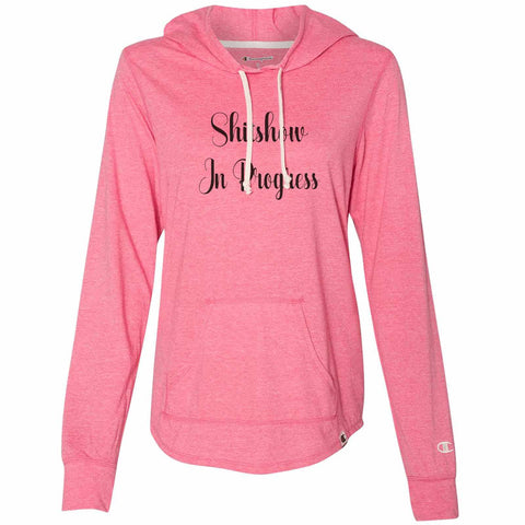 The Best Way To Spread Christmas Cheer Is Singing Loud For All To Hear - Womens Champion Brand Hoodie - Hooded Sweatshirt
