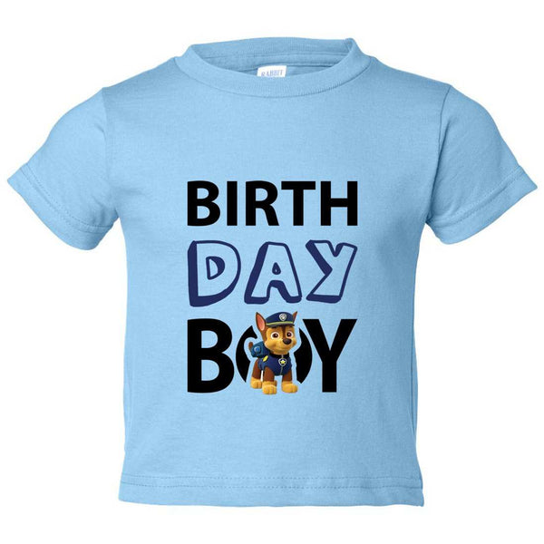 Birthday Boy Kids Toddler or Youth T-shirt Top - Game of Thrones Inspired Funny Shirt 12 Month T-Shirt / Baby Blue