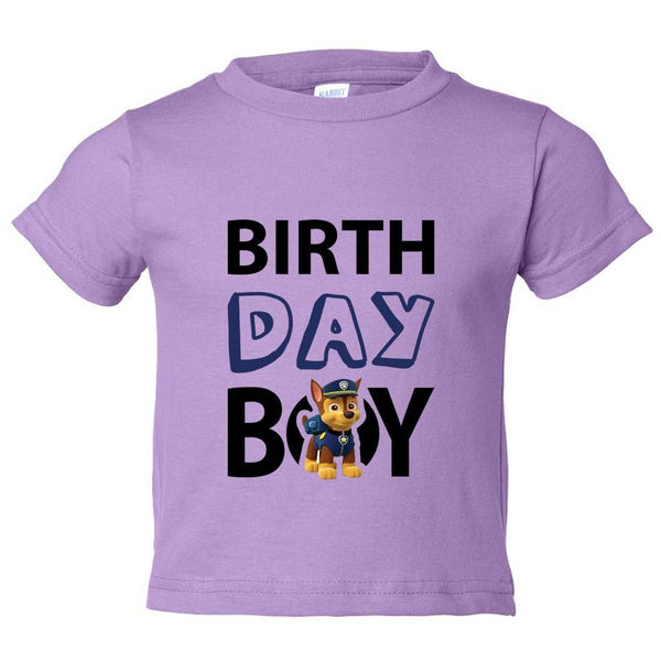 Birthday Boy Kids Toddler or Youth T-shirt Top - Game of Thrones Inspired Funny Shirt 12 Month T-Shirt / Lilac