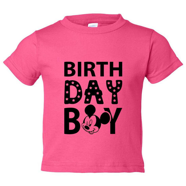 Birthday Boy Kids Toddler or Youth T-shirt Top - Game of Thrones Inspired Funny Shirt 12 Month T-Shirt / Hot Pink