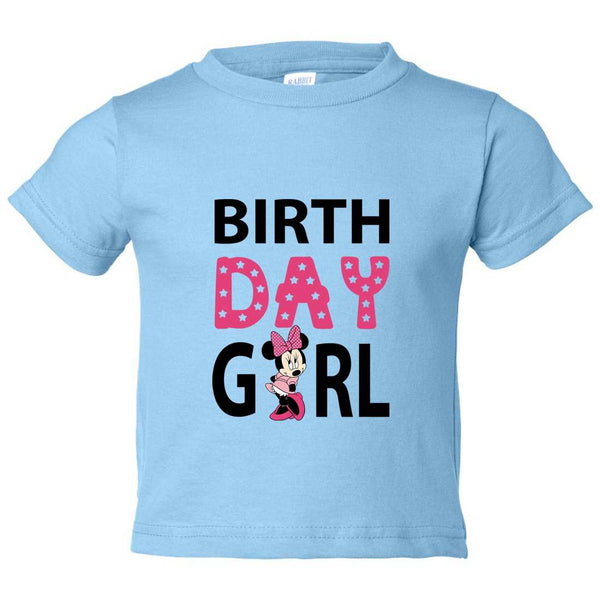 Birthday Girl Kids Toddler or Youth T-shirt Top - Game of Thrones Inspired Funny Shirt 12 Month T-Shirt / Baby Blue