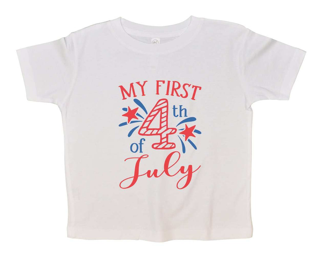 My First 4Th Of July Funny Kids bodysuit