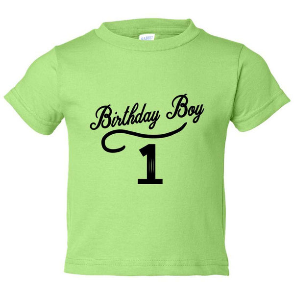 Birthday Boy 1 Kids Toddler or Youth T-shirt Top - Game of Thrones Inspired Funny Shirt 12 Month T-Shirt / Green