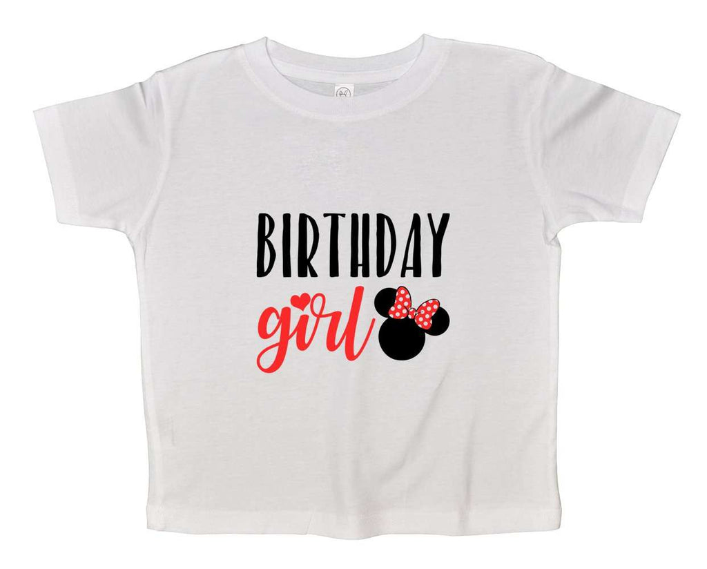 Birthday Girl Funny Kids Onesie Funny Shirt 2T White Shirt / White