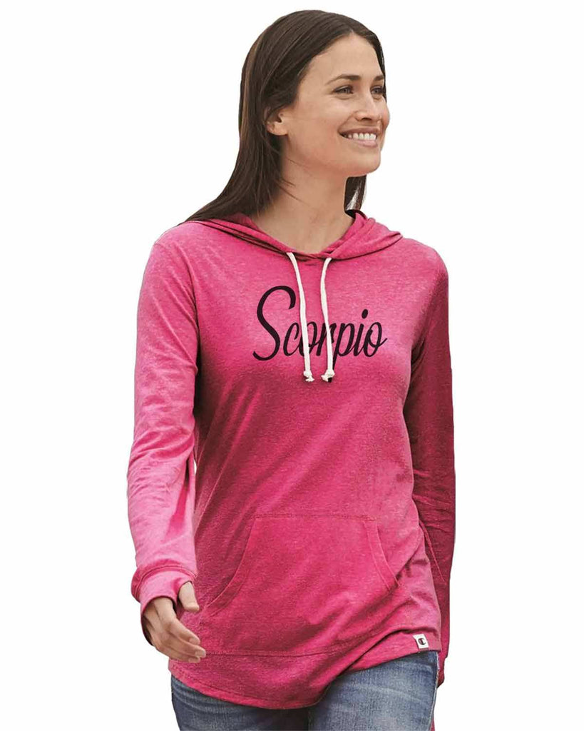 Scorpio - Womens Champion Brand Hoodie - Hooded Sweatshirt Funny Shirt