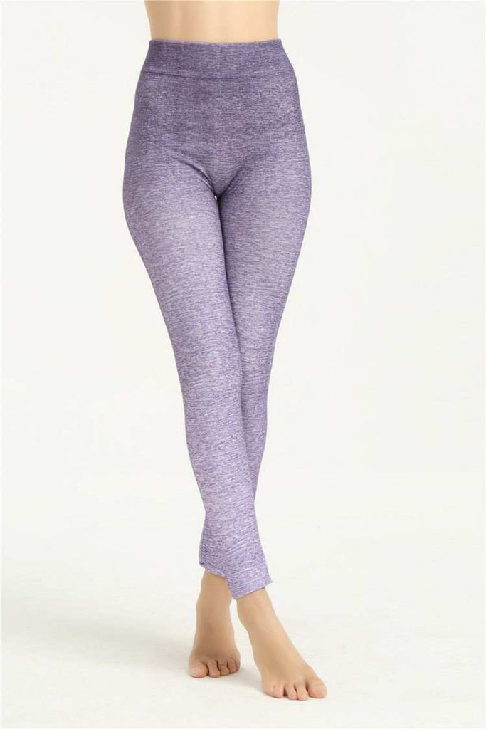 Womens Yoga Pants Leggings  Purple in color, very soft, and super easy fitting Funny Shirt