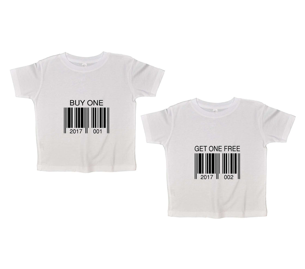 Buy One Get One Free Funny Kids Onesie Funny Shirt 2T White Shirt