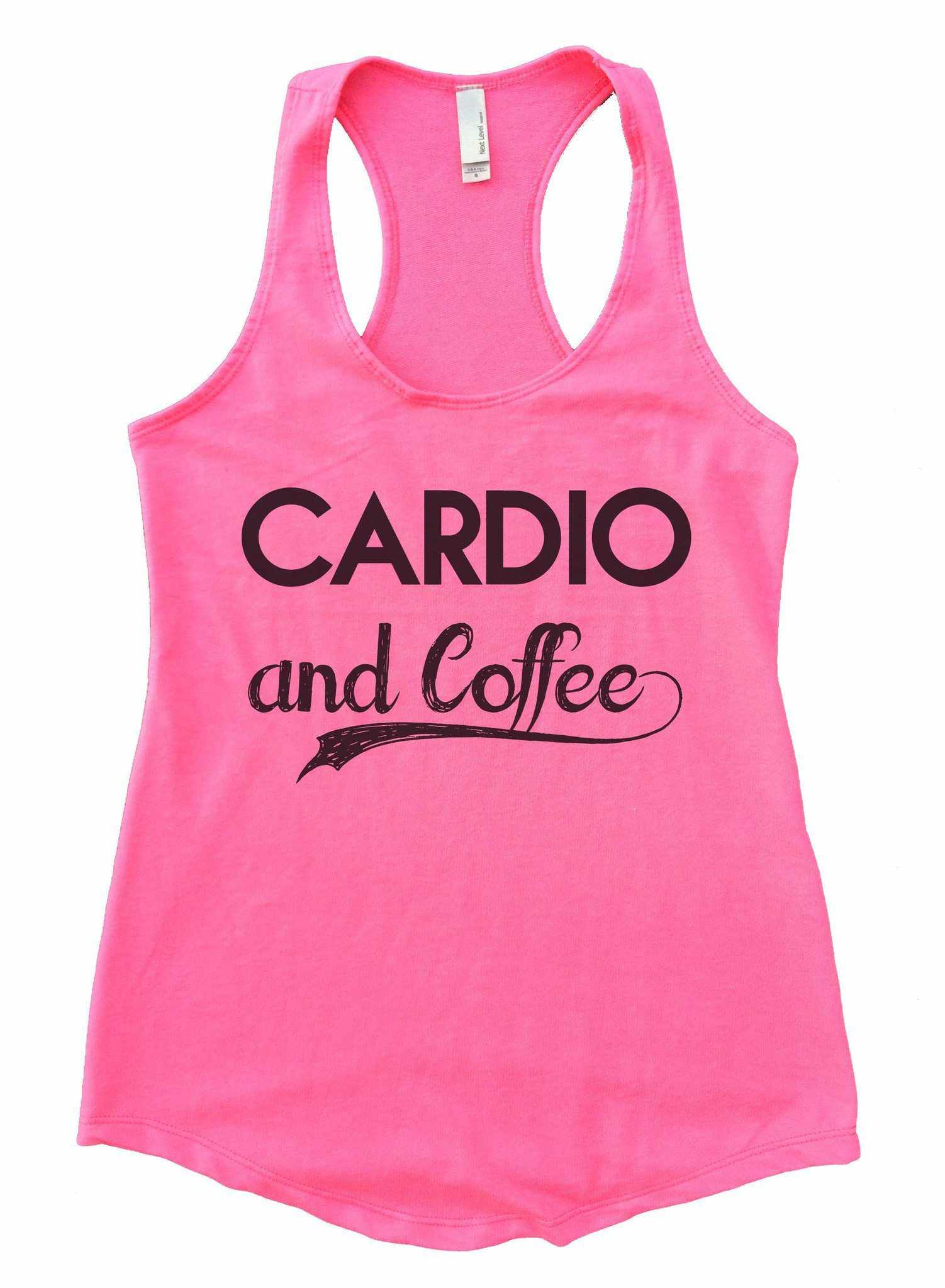 6cabda1285043 Cardio And Coffee Womens Workout Tank Top