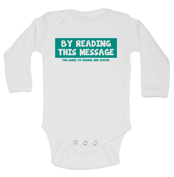 Daddy's Girl Funny Kids Onesie Funny Shirt Long Sleeve 0-3 Months