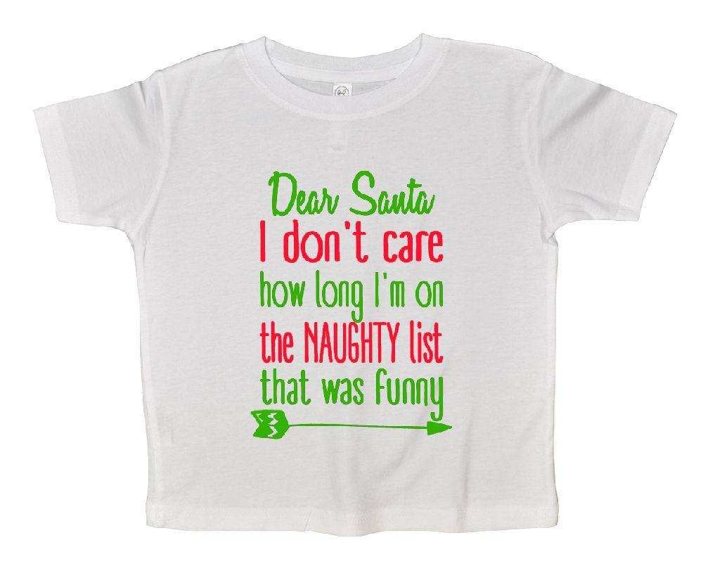 Im on The Naughty List Kids T-Shirt