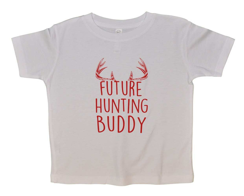 Future Hunting Buddy FUNNY KIDS ONESIE Funny Shirt 2T White Shirt