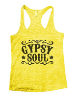 Gypsy Soul Burnout Tank Top By Funny Threadz Funny Shirt Small / Yellow