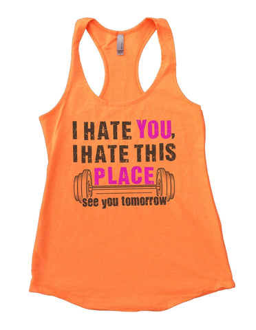 'UNLESS YOU PUKE, FAINT, OR DIE, KEEP GOING' Womens Workout Tank Top