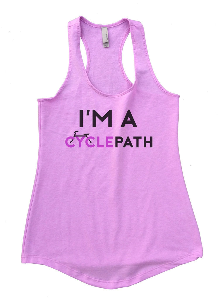 I'm A CyclePath Womens Workout Tank Top Funny Shirt Small / Lilac