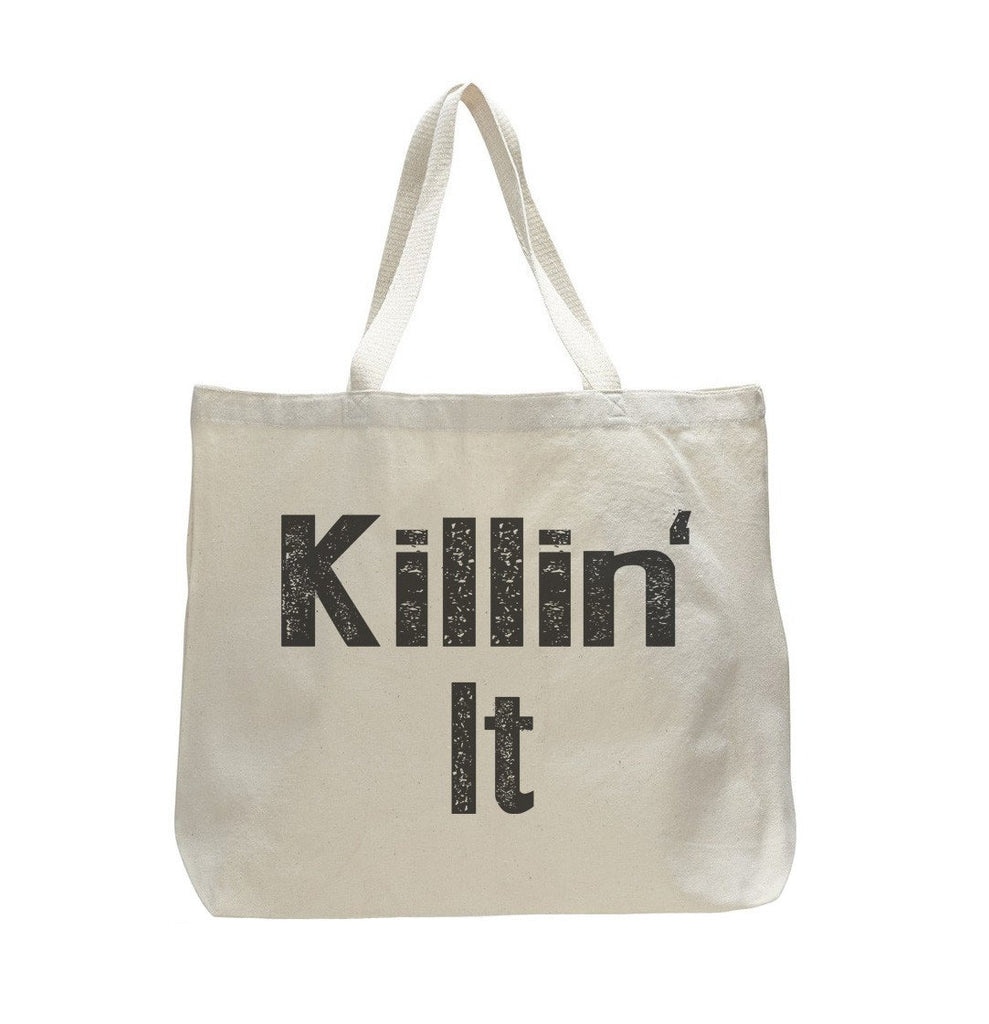 Kilillin It - Trendy Natural Canvas Bag - Funny and Unique - Tote Bag Funny Shirt