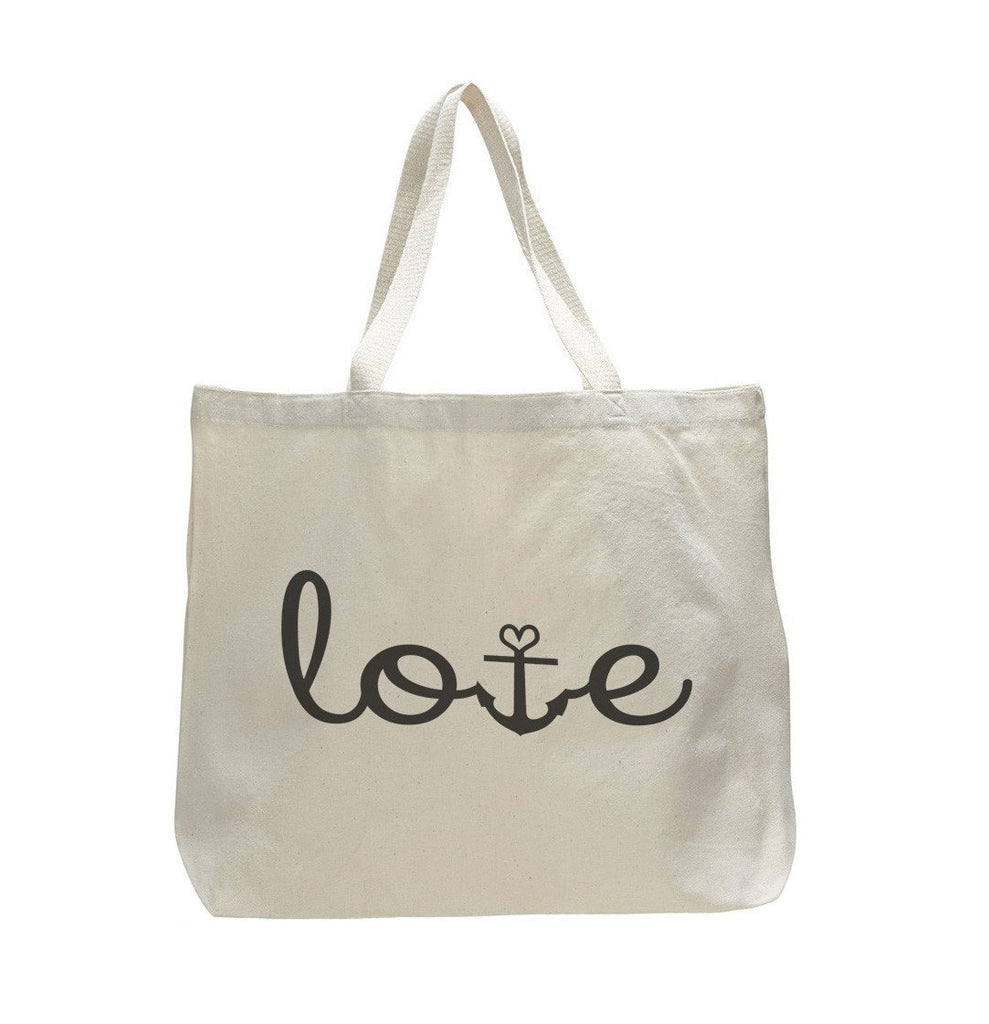 Love - Trendy Natural Canvas Bag - Funny and Unique - Tote Bag Funny Shirt