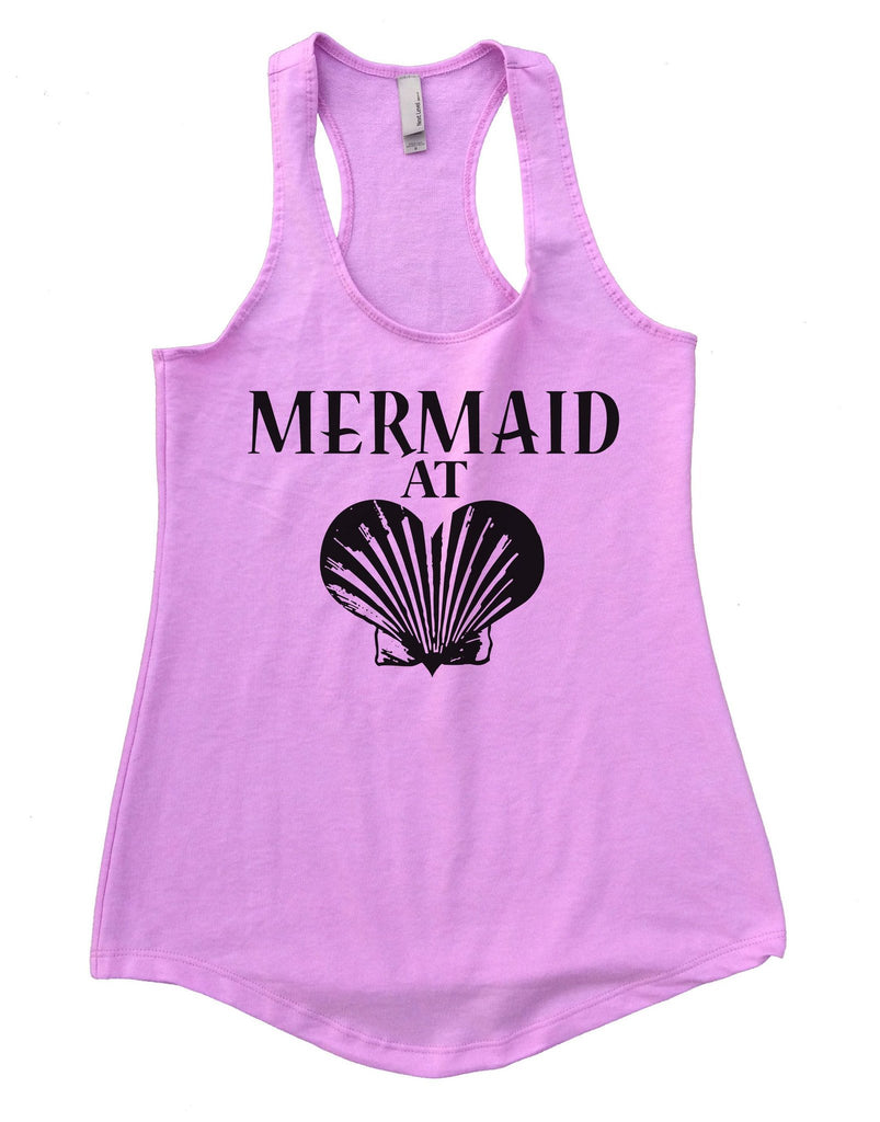 Mermaid At Love Womens Workout Tank Top