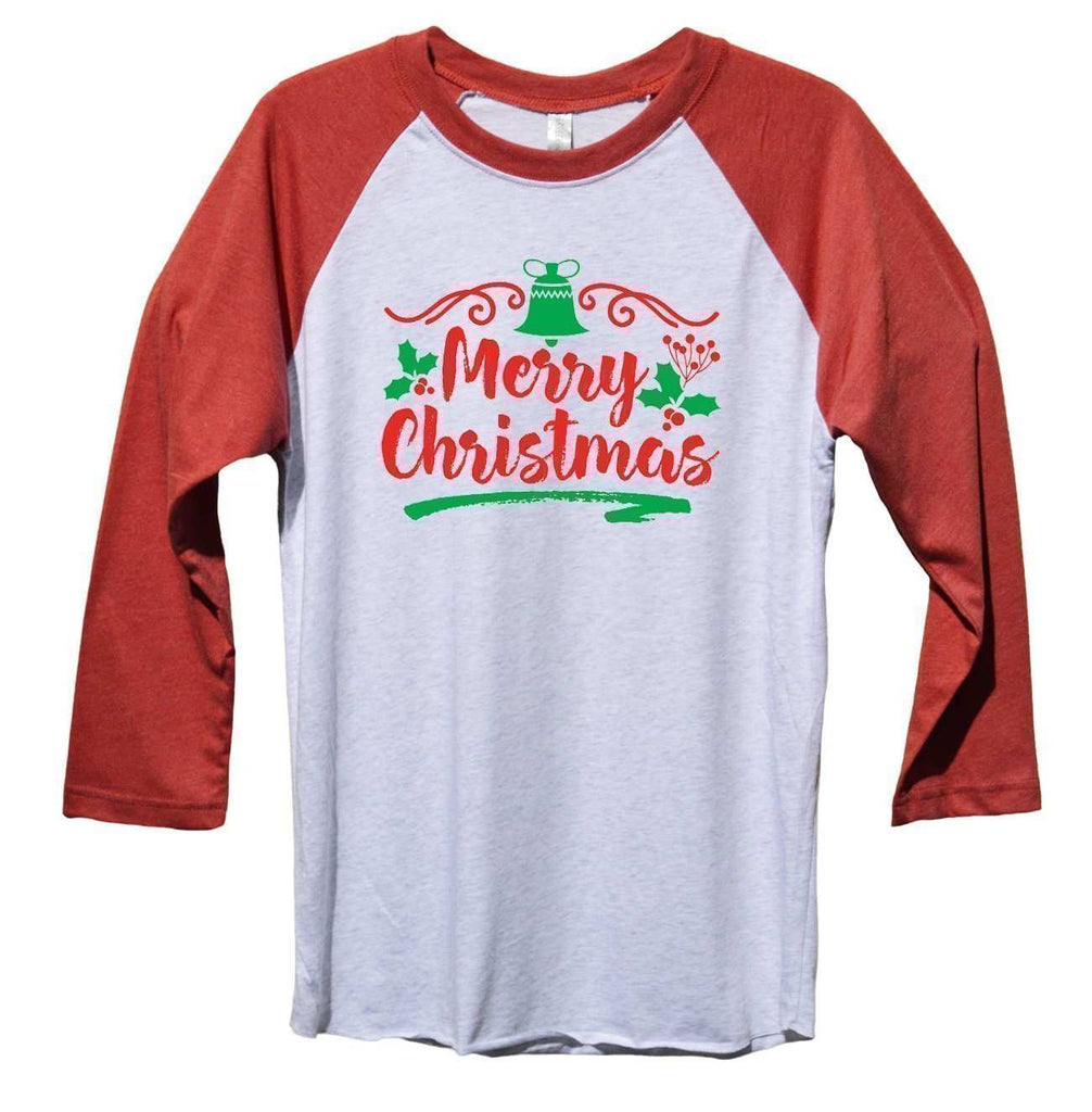 Merry Christmas Funny Christmas - Unisex Baseball Tee Mens And Womens Funny Shirt