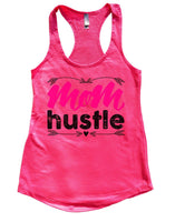 Mom Hustle Womens Workout Tank Top Funny Shirt Small / Hot Pink