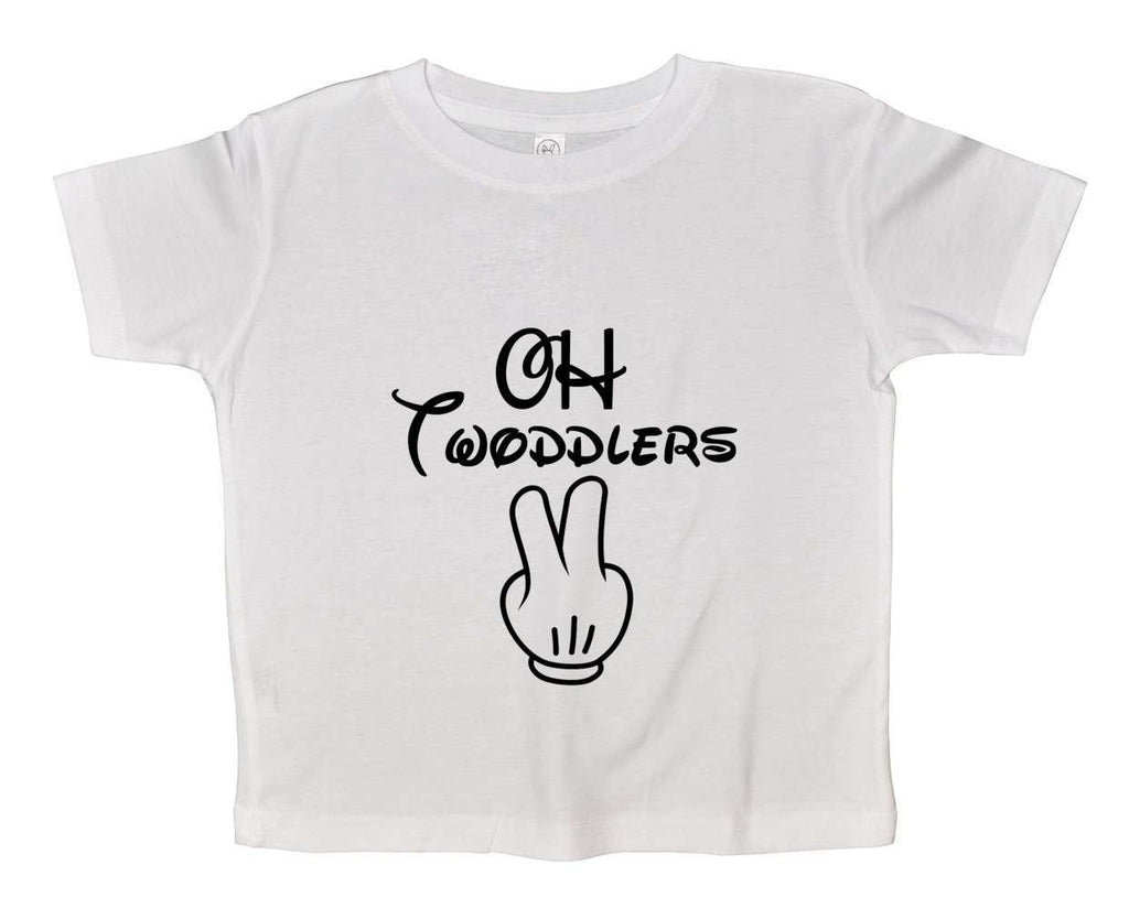 Oh Twodlers Funny Kids Onesie Funny Shirt 2T White Shirt