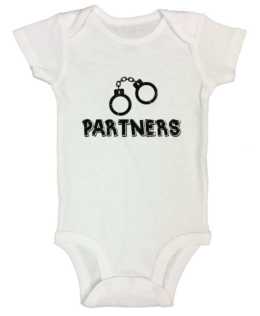 Partners FUNNY KIDS ONESIE Funny Shirt Short Sleeve 0-3 Months
