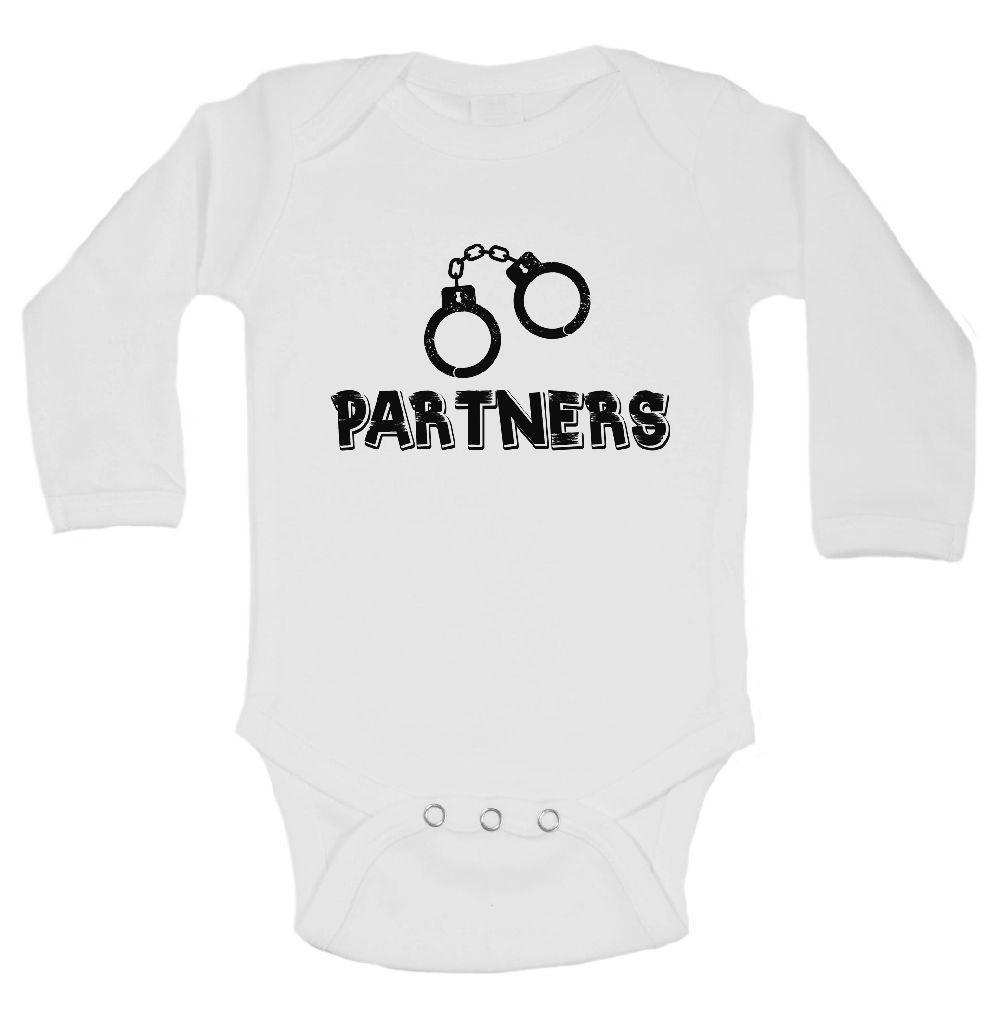Partners FUNNY KIDS ONESIE Funny Shirt Long Sleeve 0-3 Months