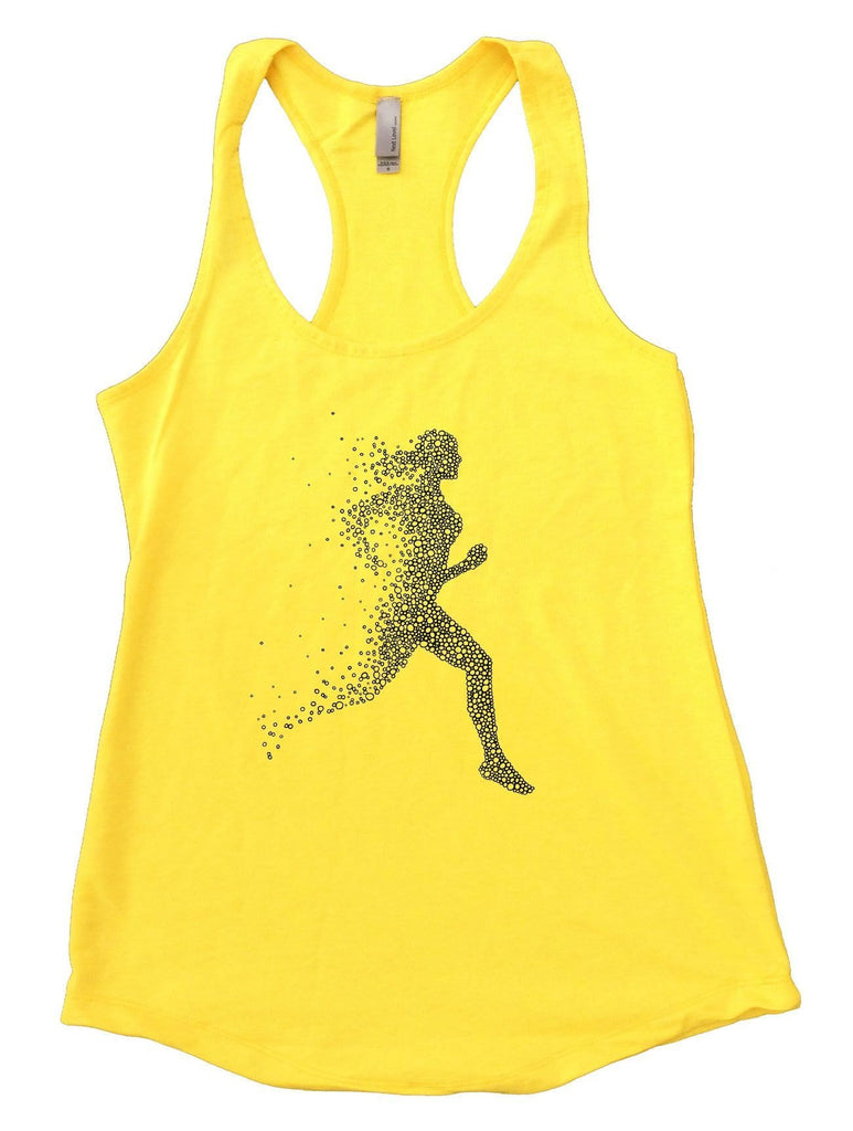 Run Womens Workout Tank Top Funny Shirt Small / Yellow