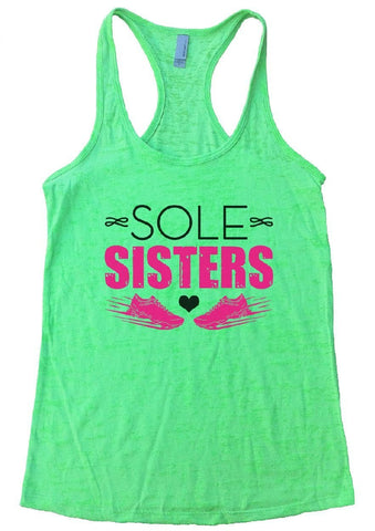 SOLE SISTERS Burnout Tank Top By Funny Threadz