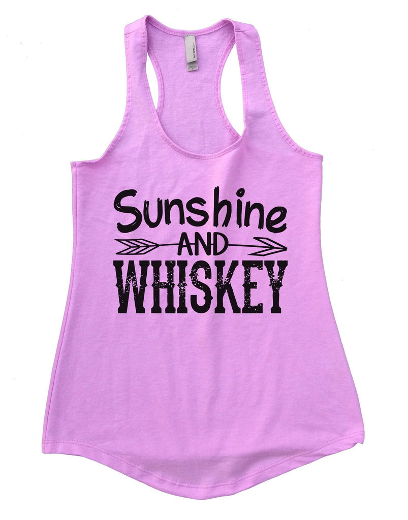 Sunshine And Whiskey Womens Workout Tank Top Funny Shirt Small / Lilac