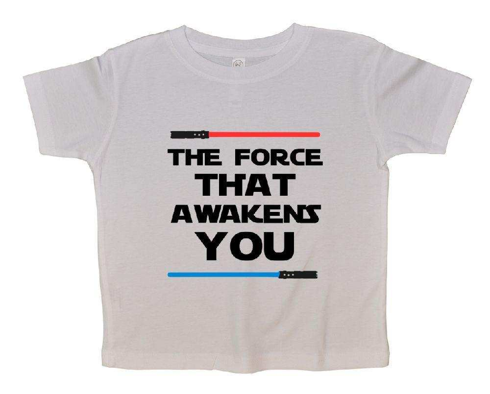 The Force That Awakens You FUNNY KIDS ONESIE - FunnyThreadz.com