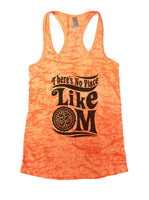 There's No Place Like OM Burnout Tank Top By Funny Threadz Funny Shirt Small / Neon Orange