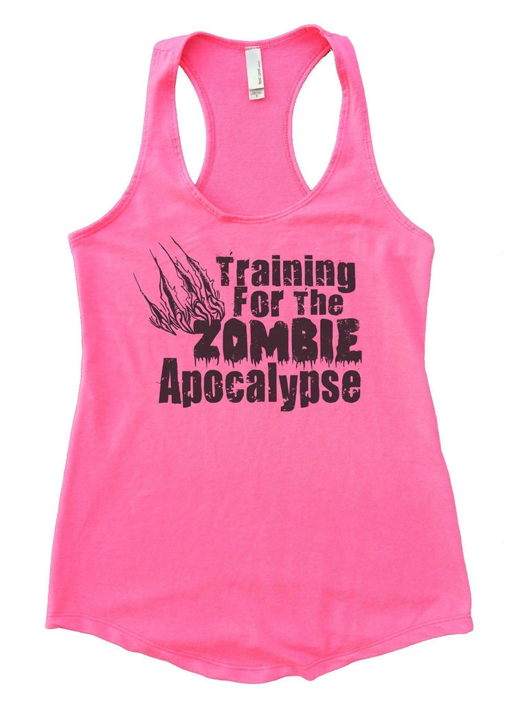 Training For The Zombie Apocalypse Womens Workout Tank Top