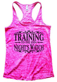 Training To The Join Night's Watch Burnout Tank Top By Funny Threadz