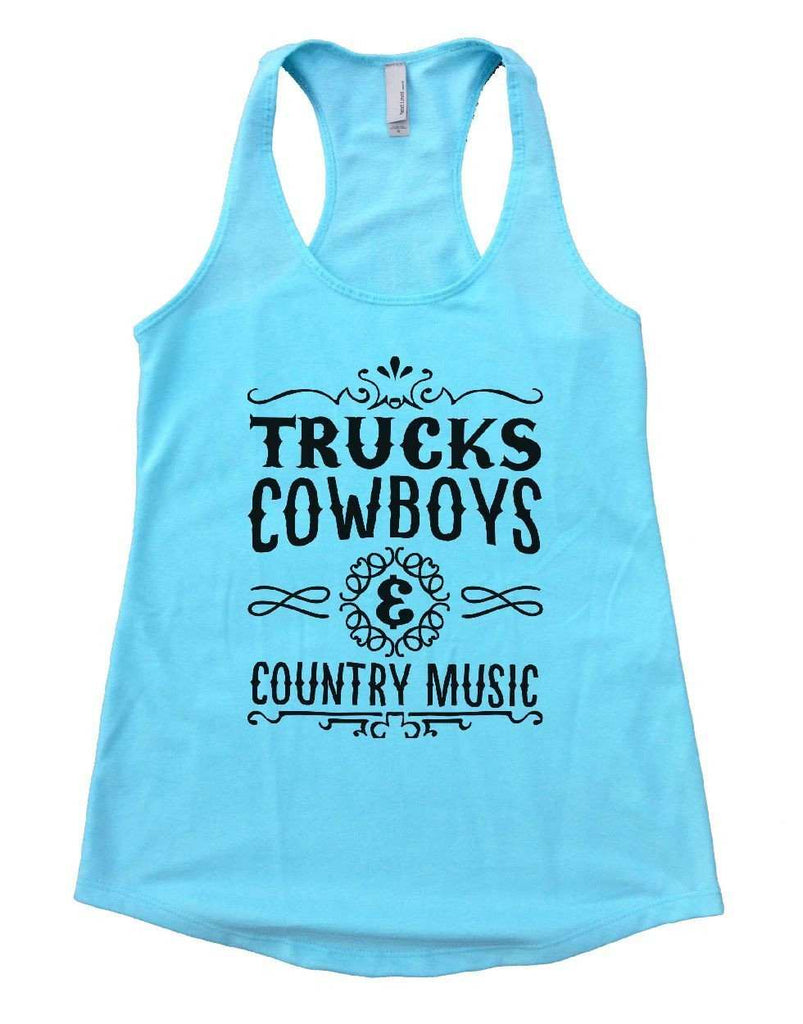 447c847bf04bc8 ... TRUCKS COWBOYS   COUNTRY MUSIC Womens Workout Tank Top Funny Shirt  Small   Cancun ...