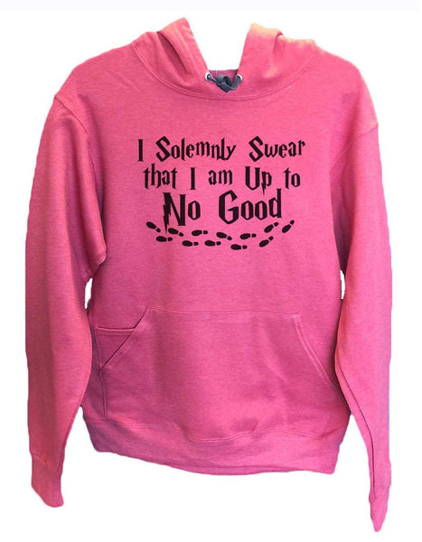 UNISEX HOODIE - I Solemnly Swear That I Am Up To No Good - FUNNY MENS AND WOMENS HOODED SWEATSHIRTS - 2267 Funny Shirt Small / Cranberry Red