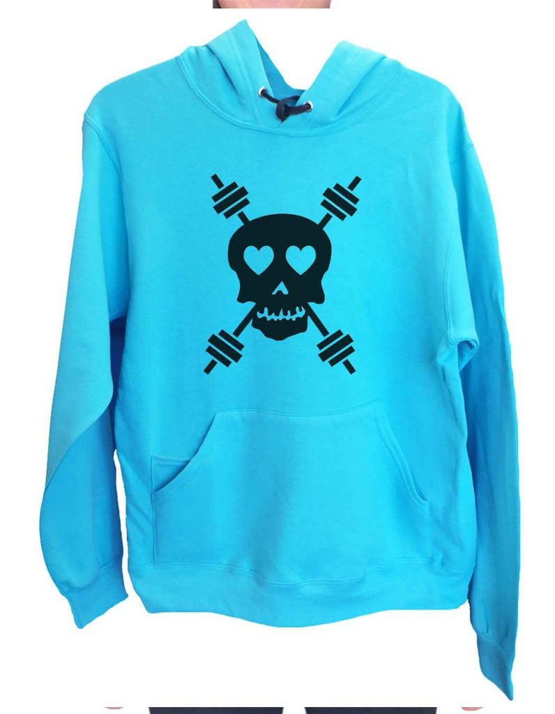 UNISEX HOODIE - Skull - FUNNY MENS AND WOMENS HOODED SWEATSHIRTS - 653 Funny Shirt
