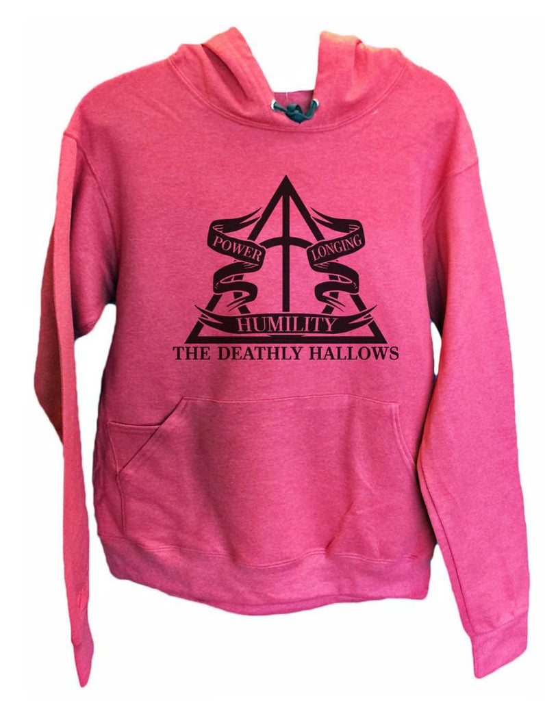 UNISEX HOODIE - The Deathly Hallows - FUNNY MENS AND WOMENS HOODED SWEATSHIRTS - 2125 Funny Shirt Small / Cranberry Red