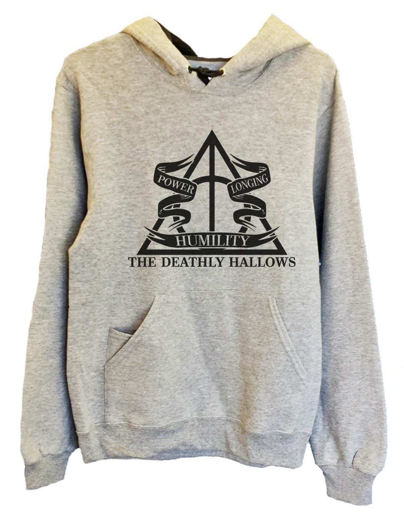 UNISEX HOODIE - The Deathly Hallows - FUNNY MENS AND WOMENS HOODED SWEATSHIRTS - 2125 Funny Shirt