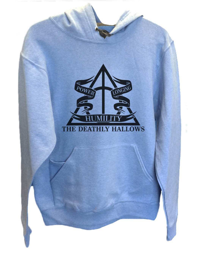 UNISEX HOODIE - The Deathly Hallows - FUNNY MENS AND WOMENS HOODED SWEATSHIRTS - 2125 Funny Shirt Small / North Carolina Blue