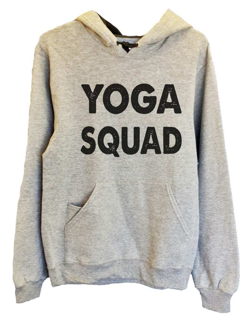 UNISEX HOODIE - Yoga Squad - FUNNY MENS AND WOMENS HOODED SWEATSHIRTS - 2185 Funny Shirt