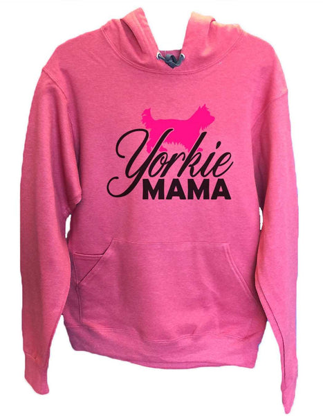 UNISEX HOODIE - Yorkie Mama - FUNNY MENS AND WOMENS HOODED SWEATSHIRTS - 2181 Funny Shirt Small / Cranberry Red