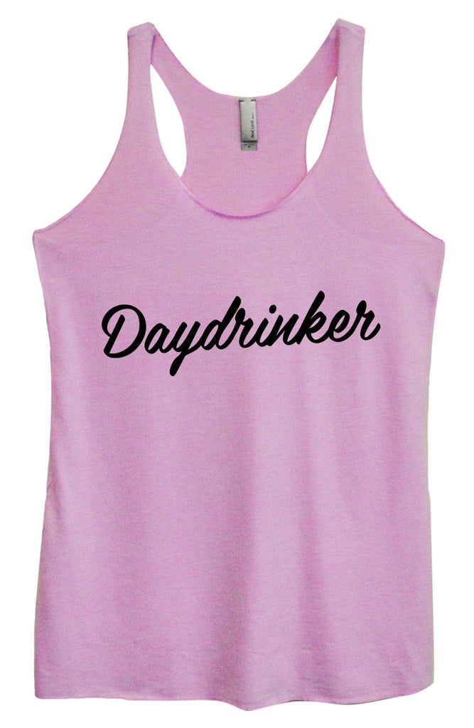Womens Tri-Blend Tank Top - Daydrinker Funny Shirt Small / Vintage Lilac