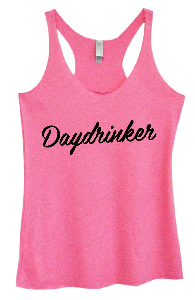 Womens Tri-Blend Tank Top - Daydrinker Funny Shirt Small / Vintage Pink
