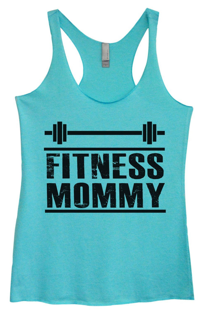 Womens Tri-Blend Tank Top - Fitness Mommy - FunnyThreadz.com