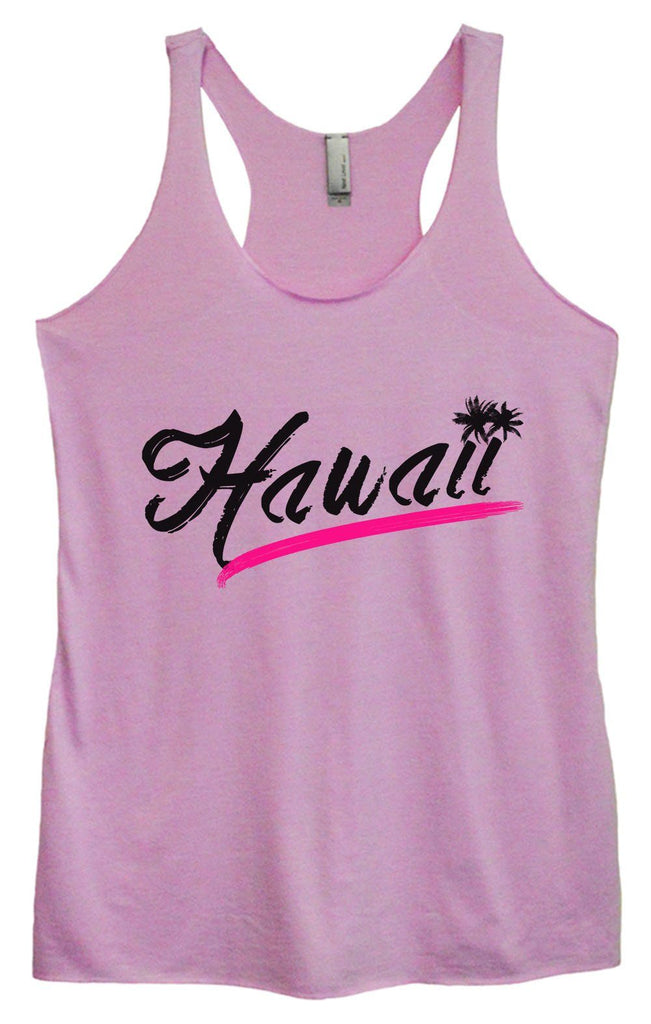 Womens Tri-Blend Tank Top - Hawaii Funny Shirt Small / Vintage Lilac