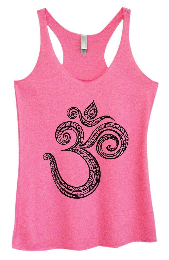 Womens Tri-Blend Tank Top - OM Funny Shirt Small / Vintage Pink