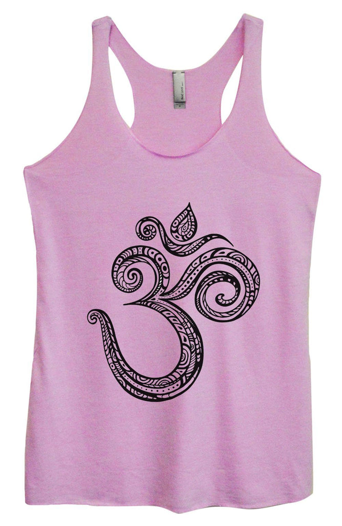 Womens Tri-Blend Tank Top - OM Funny Shirt Small / Vintage Lilac