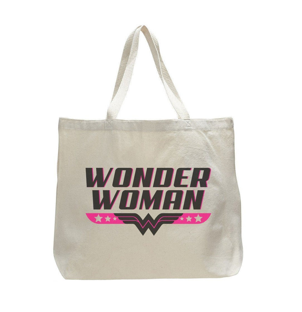 Wonder Woman - Trendy Natural Canvas Bag - Funny and Unique - Tote Bag Funny Shirt
